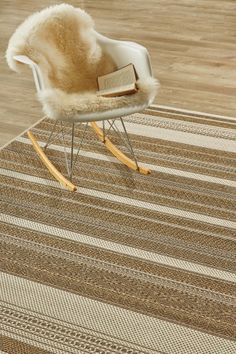 Corn Linear Love X Water-resistant, durable poly-propylene woven flatweave X 3 m). Add texture t. Animals For Kids, Rocking Chair, Rugs On Carpet, Architecture Design, Interior Design, Decor Ideas, Patio, Texture, Furniture