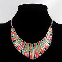 Bib Necklace - Multicolor