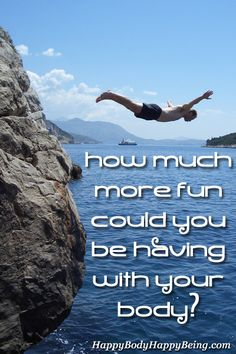 How much more fun could you be having with our body?
