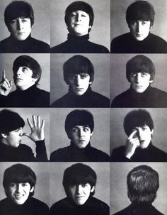 The Beatles Hard Day's Night pics