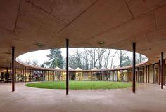 51N4E: scuola materna & sede   e depositi dei giardinieri, Merksem, Belgio