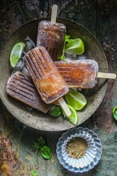 Spiced Coke Popsicle