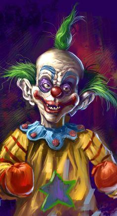 Killer Klown by Grimbro on DeviantArt
