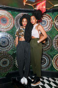 Tyrone Quann Cipriana Quann New York Fashion Week's Party Animals - Takenya and Cipriana Quann Black Women Fashion, Look Fashion, Fashion Beauty, Womens Fashion, Fashion Design, Fashion Trends, Ladies Fashion, Fashion Weeks, Looks Street Style