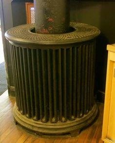 antique column radiator