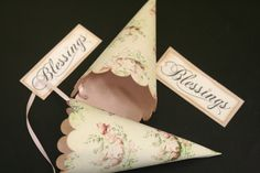 Wedding Favor Cones French Wedding Vintage by FaithfulCrafter, $2.25