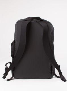 Men's Arc'teryx Veilance Nomin Pack Black on Garmentory Bungee Cord, Key Hooks, Backpack Straps, Ss16, Zip, Black, Fashion, Moda, Black People