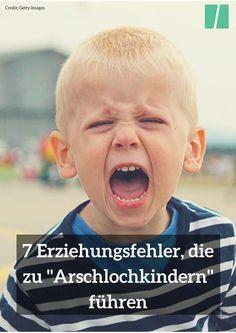 """7 Erziehungsfehler, die zu """"Tyrannen"""" und """"Arschlochkindern"""" führen. #kinder #eltern #erziehung #mutter #vater"""