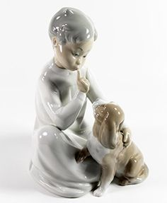"Lladro ""Boy with Dog"" Collectible Figurine #04522 Retired Glazed Finish Lladro http://www.amazon.com/dp/B00P4E08QS/ref=cm_sw_r_pi_dp_uLQ1vb15SYTHP"