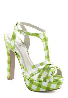 Lime Up Heel   Mod Retro Vintage Heels   ModCloth.com