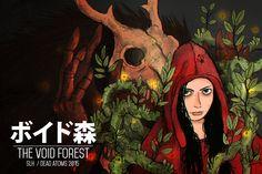 The Void Forest (not finished), Santiago London on ArtStation at https://www.artstation.com/artwork/the-void-forest