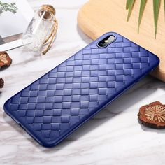 ROCK BV style soft TPU full body protective breathable bumper case for iPhone XS XS max XR Iphone Parts, Coque Iphone, Sunglasses Case, Rock, Weaving, Slim, Simple, Mince, Smooth
