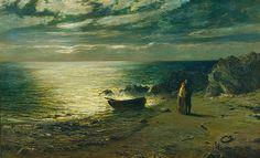 John MacWhirter (1839 -1911) Night 1874