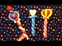 Easy Balloon Heart Wands - YouTube