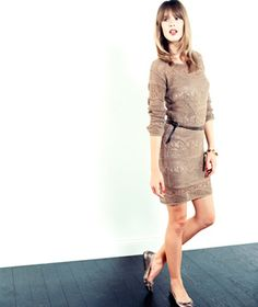 Spring Fashion Trend: Airy Knits|March comes in like a lion and goes out like a lamb. So what's the right thing to wear? Transition in easy knit spring clothes.