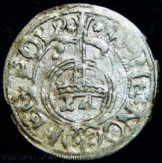 Circulated Uncertified Silver Ungraded World Coins World Coins, 17th Century, Poland, Personalized Items, Silver, Ebay, Money
