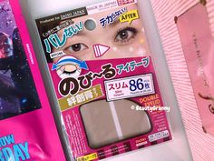 DAISO JAPAN Double Fold Eyelid Tap отзыв. Нависшее веко. Daiso Japan, Double Eyelid, Phone Cases, Day, How To Make, Phone Case
