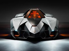 Lamborghini Egoista : Chérie tu rentre à pied !