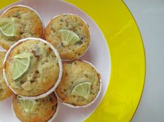 Foodiva's Kitchen: Muffin Monday - Basil Lime Olive Oil Muffins