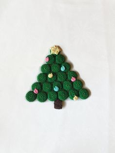 Excited to share this item from my shop: Christmas Tree Trivet / Christmas Tree Hot Pad / Crochet Trivet / Crochet Christmas Trivet / Christmas Trivet / Christmas Hot Pad Cotton Crochet, Thread Crochet, Christmas Tree, Crochet Christmas, Christmas Ornaments, Yellow Ornaments, Toy Turtles, Turtle Nursery, Turtle Plush