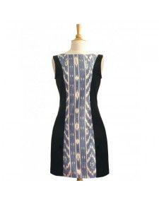 Blue Mod Ikat Dress available at Greenheart Shop.