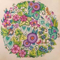 #magicaljungle #fabercastell #prismacolor #johannabasford #enchantedforest #lostocean #secretgarden