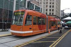 South Lake Union streetcar debut, 2007