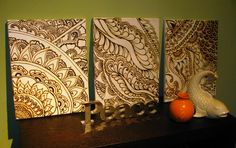 henna paintings