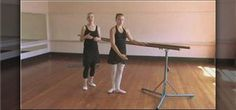 How to Warm up with ballet barre exercises