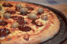 Masa de pizza argentina