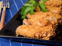 Receta   Alitas de pollo crujientes - canalcocina.es