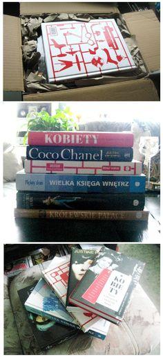 Dostawa książek na jesienno-zimowe wieczory :))
