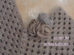 Come fare un poncho facile a uncinetto senza cuciture - Tutorial