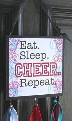 Eat- Sleep- CHEER- Repeat