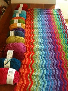 Neat Ripple Pattern pattern by Lucy of Attic24 like the fading in of colours....