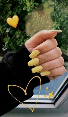 34 Trendy Summer Nails Designs That Are So Perfect for 2019 - Page 21 of 34 - Veguci - 34 Trendy Summer Nails Designs That Are So Perfect for 2019 – Page 21 of 34 – Veguci Summer Nails Bright nails Tropical Nail Nails Designs Acrylic Nails Yellow, Yellow Nail Art, Best Acrylic Nails, Bright Summer Acrylic Nails, Nail Summer, Nail Ideas For Summer, Yellow Nails Design, Red Nail, Black Nail