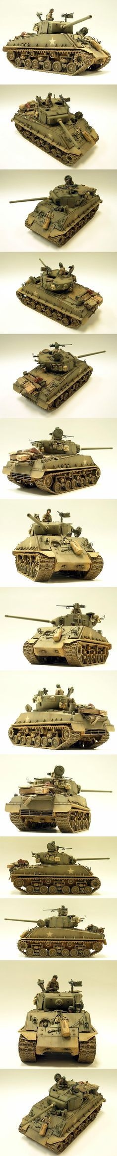 Sherman M4A3E8 (76mm) 1/35 Scale Model