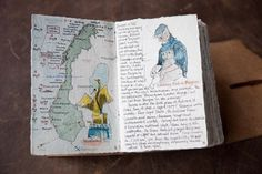 Iona Handcrafted Books : Gallery : Benno's Norway Journal
