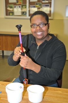 In honor of National Disability Employment Awareness Month, we would like to thank Palco Sports for their partnership. Workers at Opportunity Partners stay busy assembling their blow-dart guns. Thanks for your support of employment for people with disabilities! #NDEAM