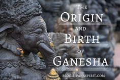 Ganesha is talked about so much in the yoga community and beyond...but do you know his real origin?