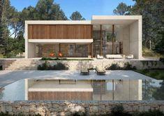 Calma House by Ramon Esteve Estudio