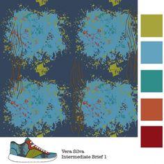 Vera Silva | Make It In Design | Surface Pattern Design | Summer School 2015 | Eco Active Organic Decay | Intermediate Creative Brief