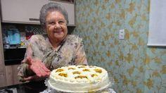 Torta de maracujá trufada