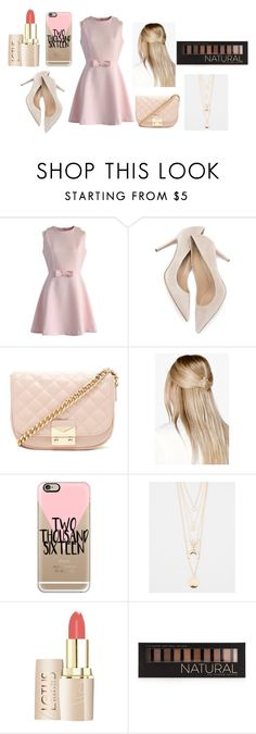 """""""girly"""" by udontknowme1267 on Polyvore featuring Chicwish, Forever 21, Boohoo, Casetify and Full Tilt"""