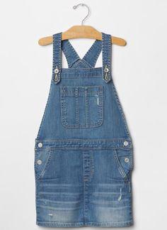olive: jean dress