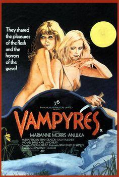 Vampyres, 1974 - UK poster