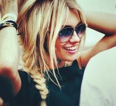 Side Plait.. Perfect for summer