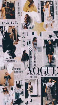 Fashion Collage - Fushion News Tumblr Wallpaper, Vogue Wallpaper, Wallpaper Collage, Collage Background, Fashion Wallpaper, Wall Collage, Wallpaper Backgrounds, Fashion Background, Wallpaper Iphone Vintage