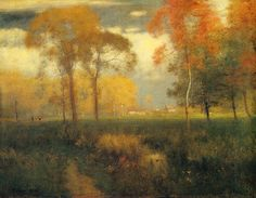 George Inness from The Artists' Road