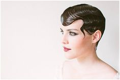 Image result for pixie wedding hair